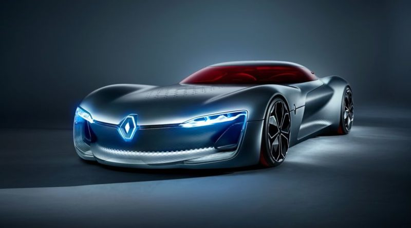 Future Cars 2020 Renault S Trezor Green Technology Car
